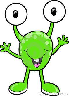 monster clipart for kids | Three Eyed Monster Clip Art ...