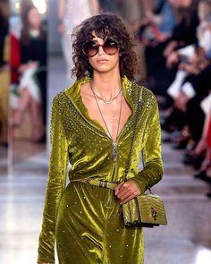 Heavily into this all green look at Bottega Veneta (@bottegaveneta) on Mica Argañaraz (@micarganaraz) aka #majorgirlcrush  . ( Rex) . #mfw #girlcrush  via MARIE CLAIRE UK MAGAZINE OFFICIAL INSTAGRAM - Celebrity  Fashion  Haute Couture  Advertising  Culture  Beauty  Editorial Photography  Magazine Covers  Supermodels  Runway Models