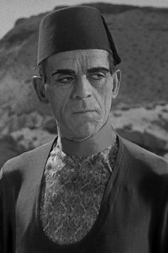 Boris Karloff, The Mummy.