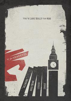 V for Vendetta, Minimal Movie Poster | Flickr – Condivisione di foto!