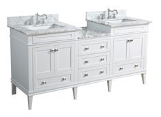"Eleanor 72"" Double Bathroom Vanity Set"