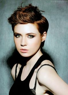 Karen Gillan (with awesome hair)