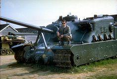British Tank, Tortoise (A39)