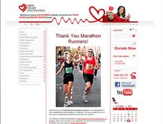 Irish Heart Foundation is the national charity fighting stroke and heart disease. iPlanit created website featuring donations and fundraising module that enables fast and secure donation process for every event. Visit http://www.irishheart.ie