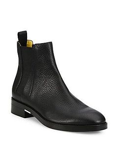 9f797e76be Alexander Wang Fia Leather Chelsea Booties