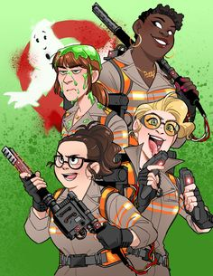 """✨Anna✨ on Twitter: """"Yoooo when does the new Ghostbusters animated series happen?? @Lesdoggg you're the best #LoveForLesleyJ…"""