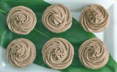 Cupcakes de chocolate con cápsulas animal print / Chocolate cupcakes with animal print wrappers