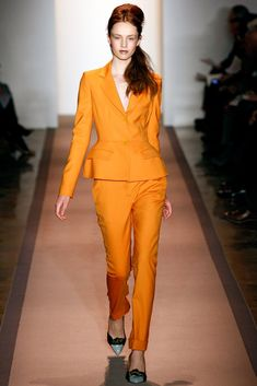Peter Som Fall 2011 Ready-to-Wear Fashion Show - Maddie Kulicka