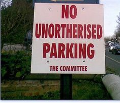 humorous signs | Funny Signs