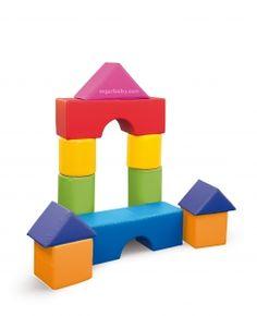 Set construcción foam nº 2 11 piezas