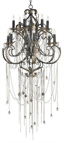 The Antiquity Chandelier is in a league all its own. Designed by renowned jewelry designer Shannon Koszyk, known for her edgy, sexy and ultra hip jewelry. This multi-layered light fixture features cha