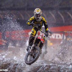 Daytona Supercross 2012 - Justin Barcia.