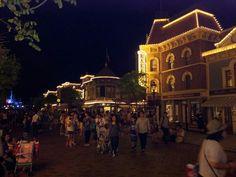 Main street, Disneyland Hongkong