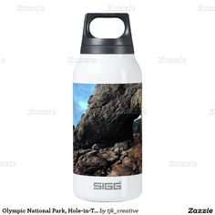 Olympic National Park, Hole-in-The-Wall Thermos Water Bottle