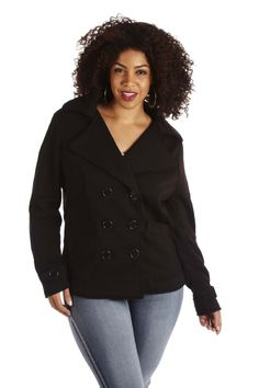 CLASSIC DOUBLE-BREASTED JACKET | Danice Stores
