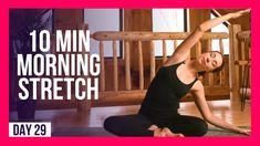 morning yoga psoas stretch at DuckDuckGo Morning Yoga Stretches, Beginner Morning Yoga, Morning Yoga Flow, Yoga Stretches For Beginners, Morning Yoga Routine, Yoga Videos, Exercise Videos, Yoga Movement, Yoga For Stress Relief