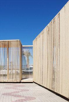 Cadiz Temporary Pavilion,Courtesy of  avanzada workshop team