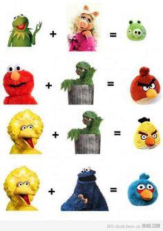 Grouchy and Big Bird sure do gets around