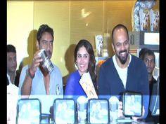 Ajay Devgan, Kareena Kapoor, Rohit Shetty | Singham Returns merchandise launch.