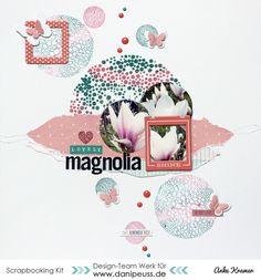 Lovely Magnolia by AnkeKramer at @studio_calico