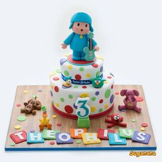 Pocoyo cake - Suganana by Yolanda