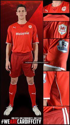 Cardiff City FC 2013/14 PUMA Home Kit