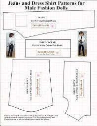 Afbeeldingsresultaat voor free printable ken doll clothes patterns