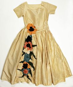 Dress House of Lanvin, French ca. 1922 silk