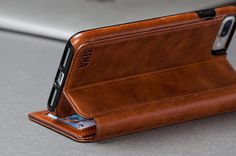 Protect your device in impeccable style with the SENA iPhone Wallet Book. Compatible with the iPhone 7 Plus, it opens up just like a book. Iphone Wallet, Iphone Cases, Ipad Case, Iphone 7 Plus, Zip Around Wallet, Books, Phones, Leather, Gadgets