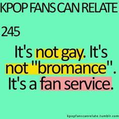 BOOM! there ya go. Although, there are some bromances in kpop, just saying.