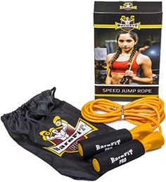 Barefitpro Adjustable Jump Rope Gold * Want additional info? Click on the image.
