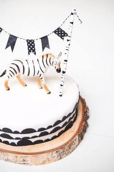 Jungle safari food and dessert inspiration to compliment the Bee Box Parties Jungle Safari Collection Safari Cakes, Safari Food, Jungle Safari, Zebra Party, Bolo Cake, Get The Party Started, Diy Cake, Childrens Party, Cakepops