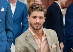 Men's wear # mode homme # fashion for men Beautiful Men Faces, Beautiful Boys, Gorgeous Men, Mens Facial, Beard Lover, Well Dressed Men, Hair And Beard Styles, Good Looking Men, Haircuts For Men