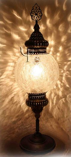 Ottoman Floor Lamp Morrocan Lamps, Turkish Lamps, Candle Lamp, Tiffany Lamps, Crackle Glass, Lamp Light, Floor Lamp, Grand Bazaar, Centerpieces