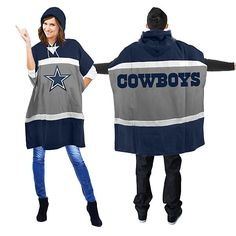 Shop Dallas Cowboys Hoodie Poncho and other products from the Official Dallas Cowboys Pro Shop! Denver Broncos Hoodie, Dallas Cowboys Sweatshirt, Dallas Cowboys Pro Shop, Denver Broncos Womens, New England Patriots Sweatshirt, Nfl New England Patriots, Broncos Apparel, Best T Shirt Designs, Hooded Poncho