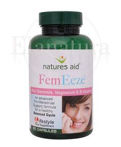 Fem Eeze je mezinárodně oceněný produkt (vítěz z roku 2011 - Londýn) pro ženy s obsahem heřmánku, hořčíku, extraktu ze sibiřského ženšenu a vitamíny ze skupiny B. Produkt FemEeze ocení ženy ve věku 18 - 45 let.