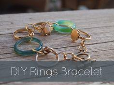 DIY Rings Bracelet