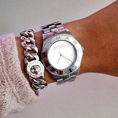 Marc by Marc Jacobs Small Katie Turnlock Bracelet and Blade Watch