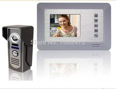 """(61.58$)  Buy here - http://aias9.worlditems.win/all/product.php?id=32262265835 - """"Fashion  7"""""""" Color LCD Video Camera Door Phone Visible Doorbell Night Vision Door Camera"""""""