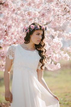 Bridal beauty shoot