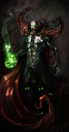 Sometime i feel spawn isnt hero when he mask off. So horror like zombie Comic Book Characters, Comic Book Heroes, Comic Character, Comic Books Art, Comic Art, Marvel Comics, Spawn Comics, Anime Comics, Geeks