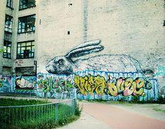 Rabbit streetart Berlin Wedding | Flickr - Photo Sharing!