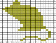 Tricksy Knitter Charts: nezumi rat mouse