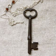 Love the vintage key