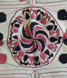 Sri | An Absolutely Beautiful Bengali Kantha: Millions of Stitches