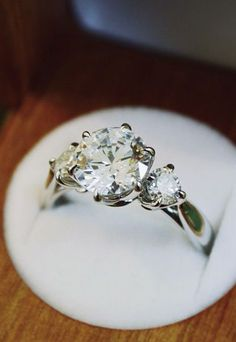 Diamond Ring - but in gold