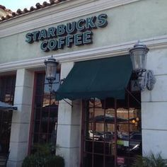 Starbucks, Calabasas...in The Commons