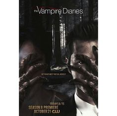 "#TVD The Vampire Diaries season 8 promotion photo  Damon & Enzo(I think?)  ""Get ready meet the evil herself"""