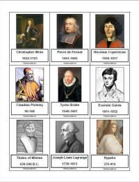 Famous Mathematicians ~ timeline figures, notebooking, etc. Montessori Math, Montessori Elementary, Montessori Materials, Elementary Math, Classroom Design, Math Classroom, Classroom Decor, Fun Math, Math Activities