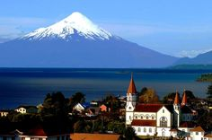 Welcome to Casa Azul Hostel - Puerto Varas, Chile. We organize tailor made private tours to Chiloe and other nice places in the Lake District. Travel Sights, Travel Deals, Chile Tours, Visit Chile, Shore Excursions, Cool Landscapes, Future Travel, Lake District, South America